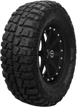 The Deck Cepek Mud Country Tire is designed to deliver excellent maneuverability both on and off-road.